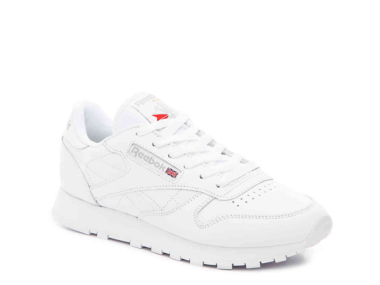 white classic reebok sneakers - 57% OFF
